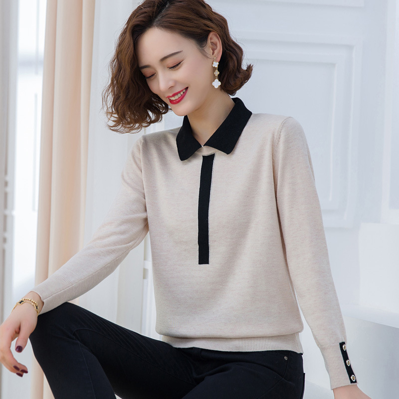 Minimalist Long Sleeved Polo for Semi-Formal Events