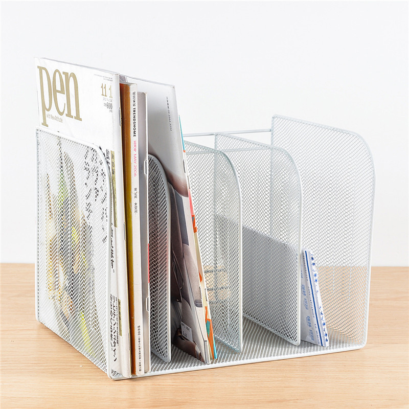 Efficient Metal Rack File for Employees Files