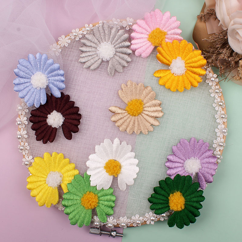 Flower Daisy Patch for Clothes
