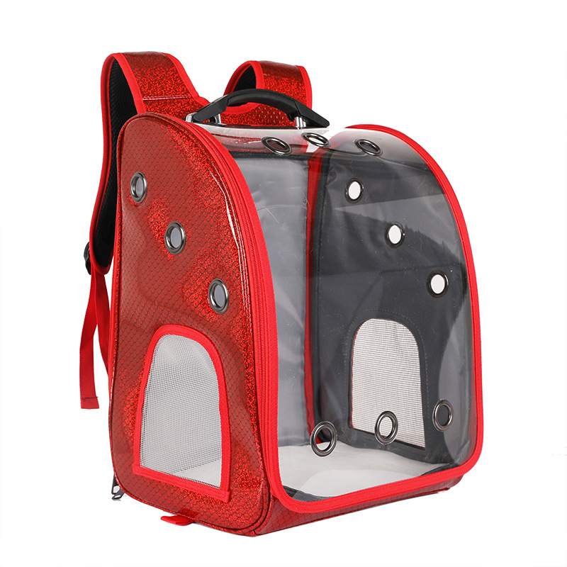Breathable Large-Capacity Pets Trolley Bag for Traveling with Pets