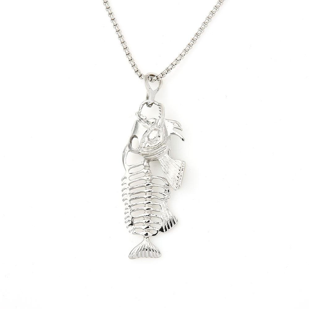 Stylish Fish Bone Pendant for Fashion Trend