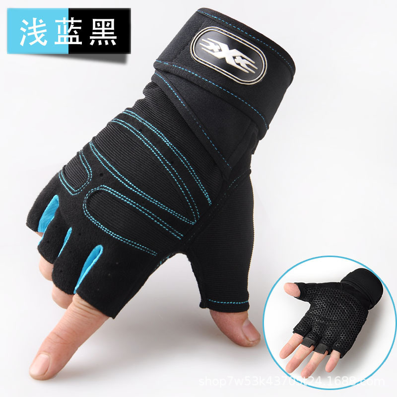 Stylish Fingerless Training Gloves for Boxing Practices