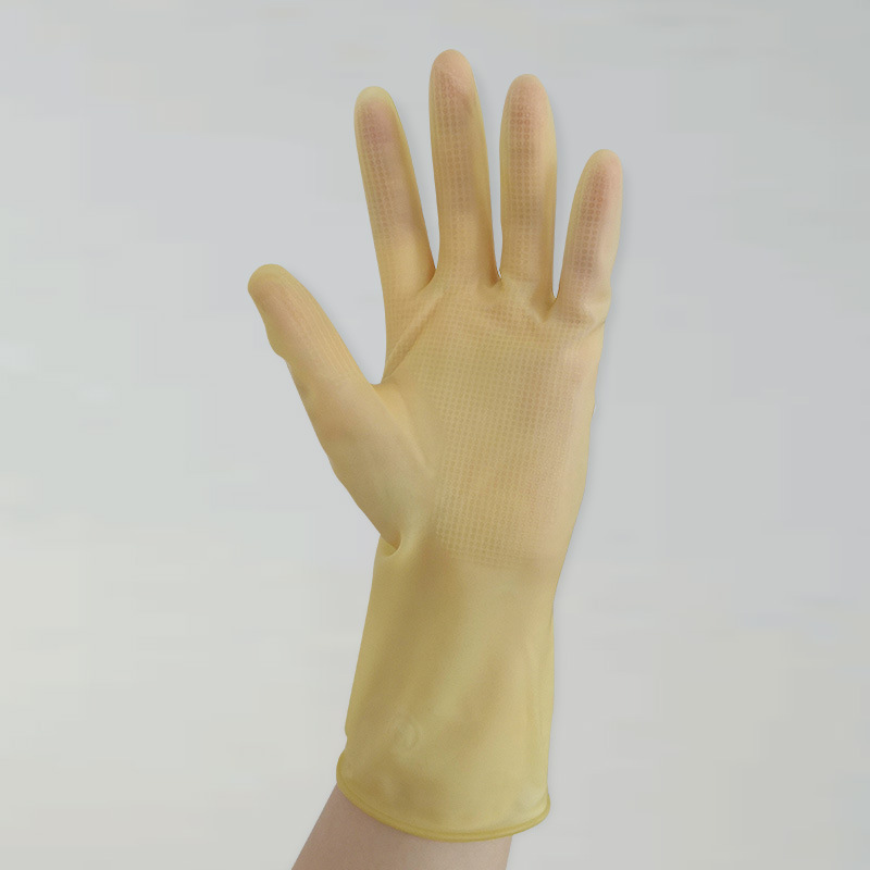 Non-Slip Durable Latex Gloves for Dishwashing