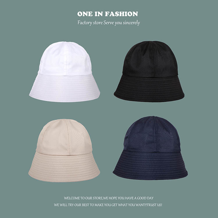 Comfy and Practical Solid Color Bucket Hat for Everyday Outfit
