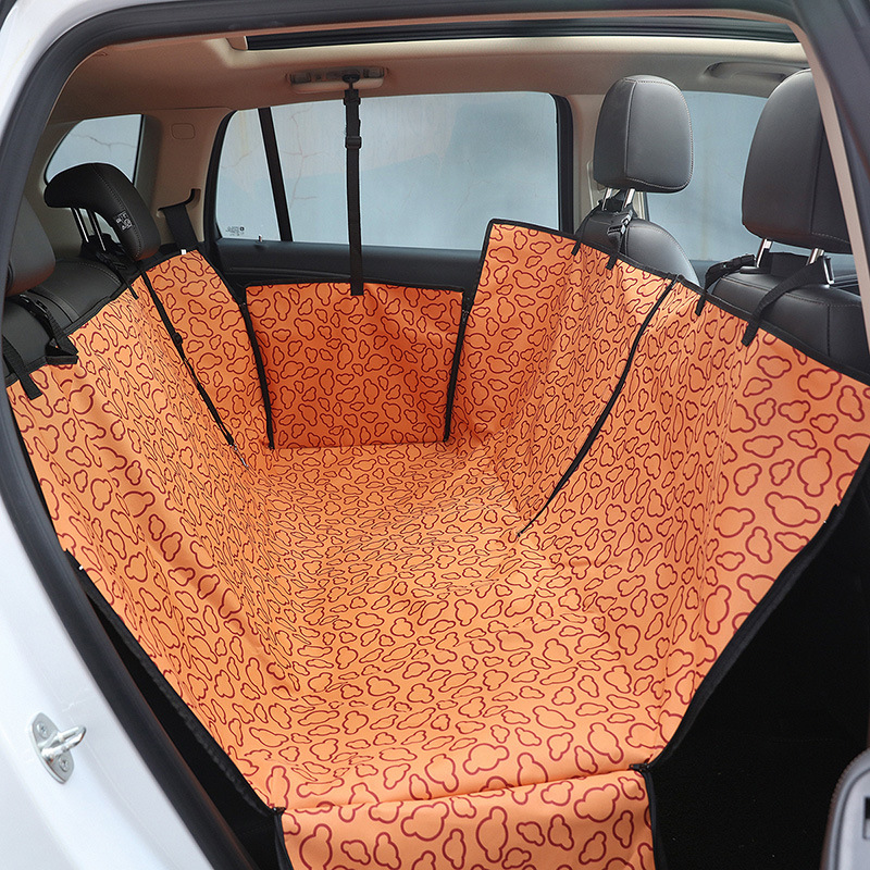 Thick Water-Repellent Car Mats for Pets Safe Car Travels