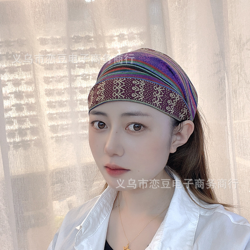 Bohemian Wide-Brimmed Headband For Summer Accessory