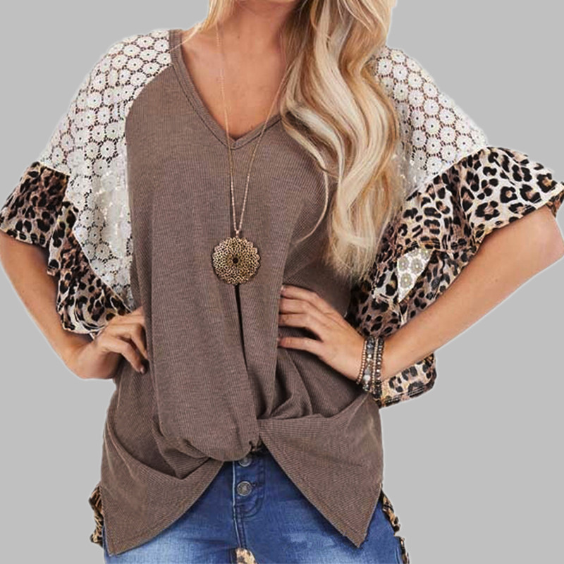 Multi-Patterned Batwing Sleeve Top for Contemporary Looks for Women