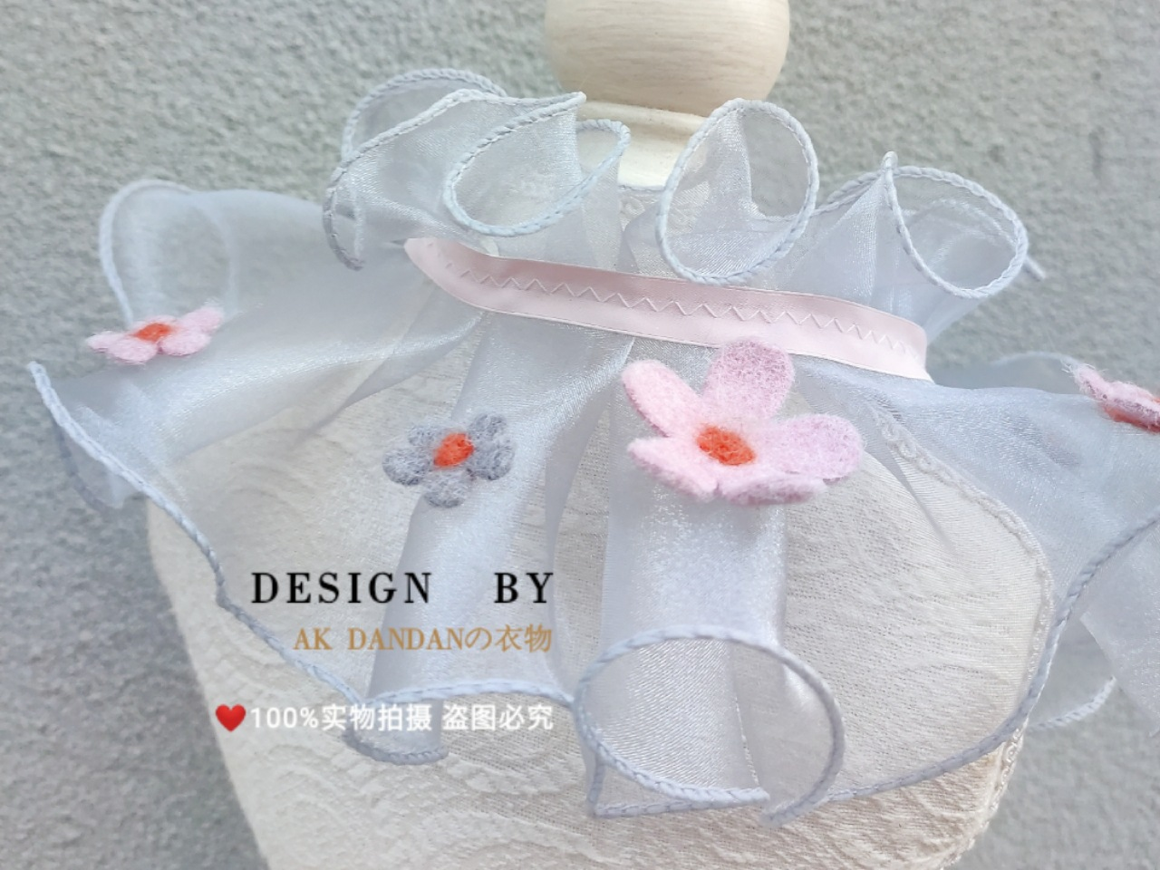Fairy Neck Scarf for Stylish Pet Costume