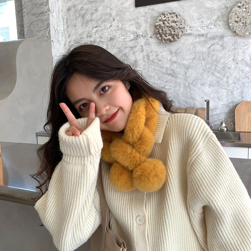 Comfortable Warm Scarf for Autumn and Winter Wear