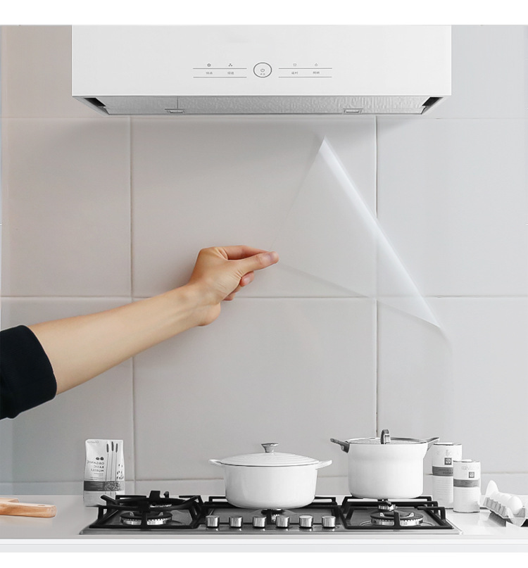 Waterproof Self-Adhesive Protective Cover for Kitchen Use