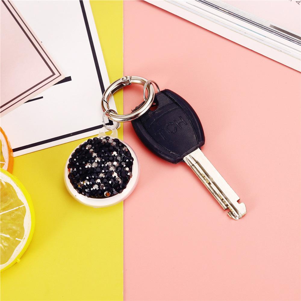 Beautiful Circular Beads Designed Keychain for Car Keys and House Keys