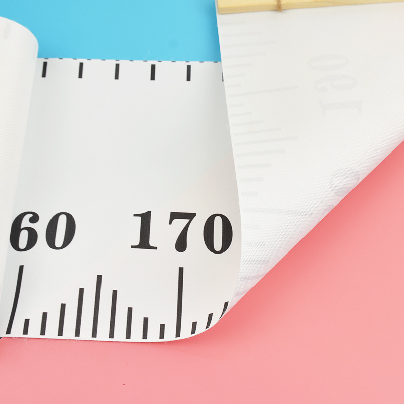 Artsy Height Ruler Wall Sticker for Toddler's Bedroom Décor