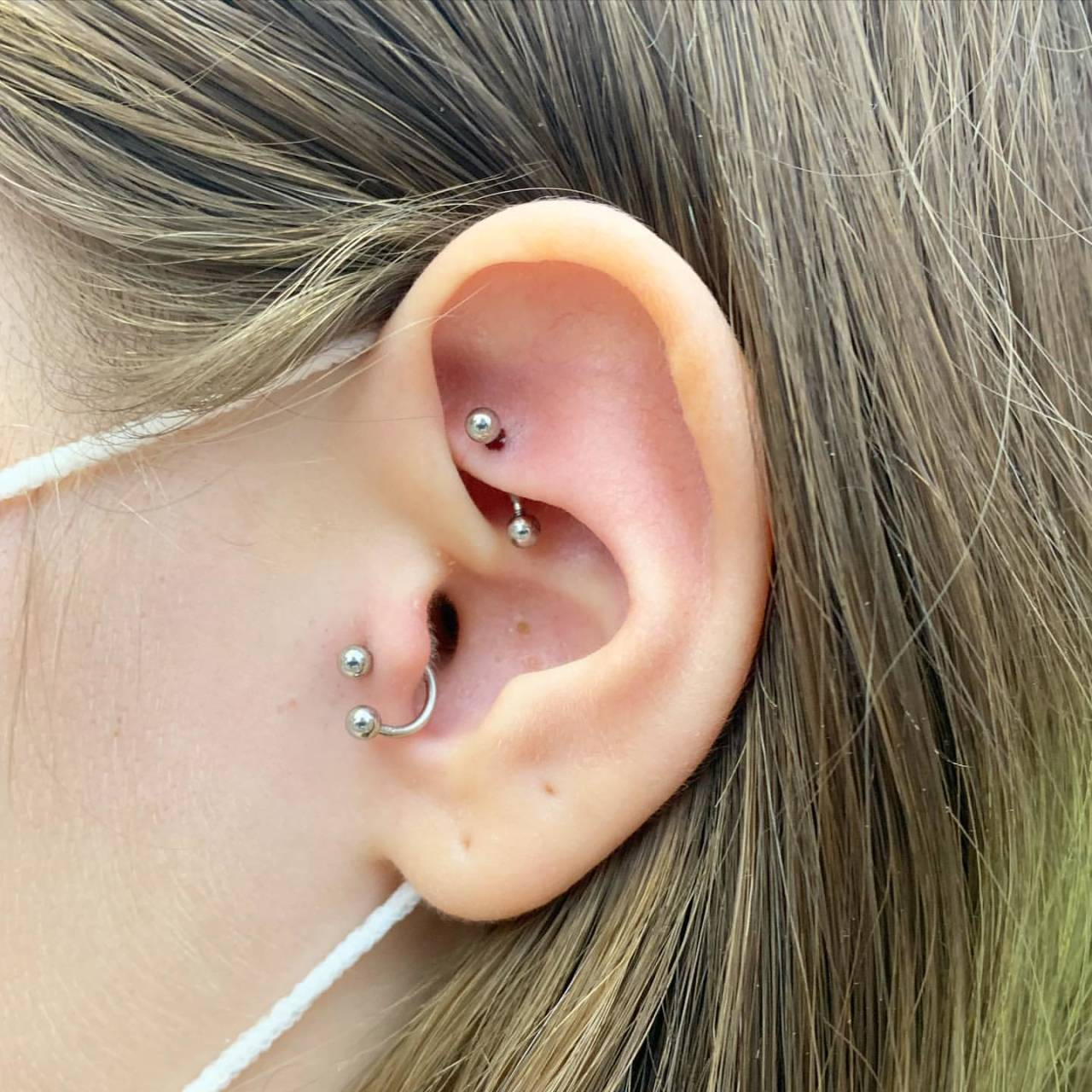 Creative Minimalist Stainless Piercing for Street-Style Fashion