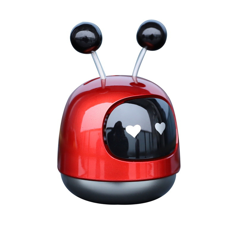 Extraordinary Robot Colored Air Freshener and Purifier for Small Car