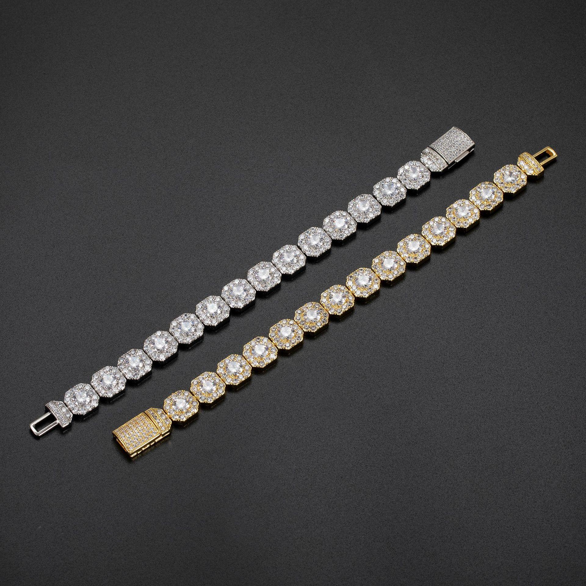 Elegant Octagon Bracelets for Girly Chic Look