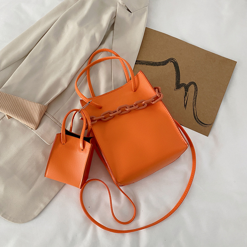 New Oriana Mini Leather Tote Bag for Carrying Daily Essentials