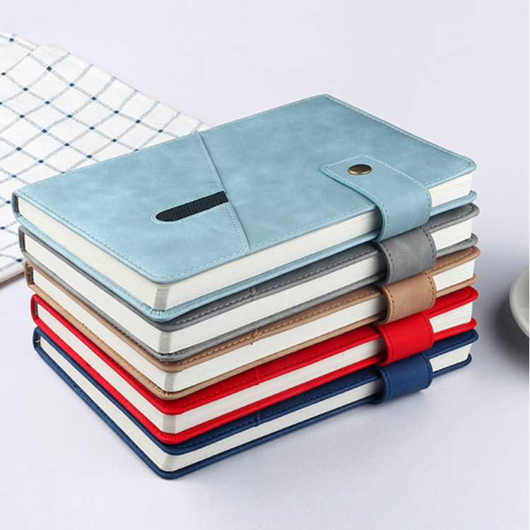 Dashing Faux Leather Notebook for School and Office Use