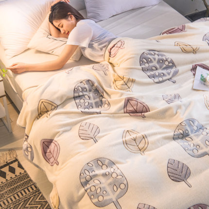Soft and Comfy Sleeping Blanket for Air-Conditioned Bedrooms