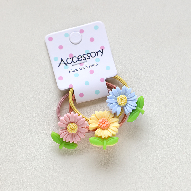 Cute Plastic and Resin Hair Ties for Dainty Outfits