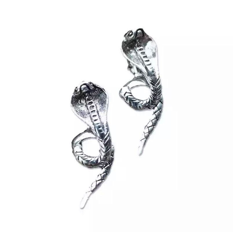 Punk Snake Earrings for Gothic Looks