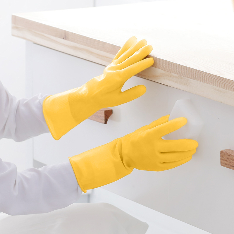 Thick Rubber Gloves for House Cleaning