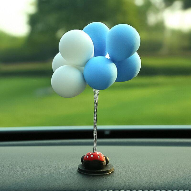 Pretty Balloon Decor for Dashboard Accessory