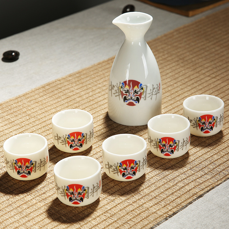 Traditional Asian-Style Tea Set for Tea Parties