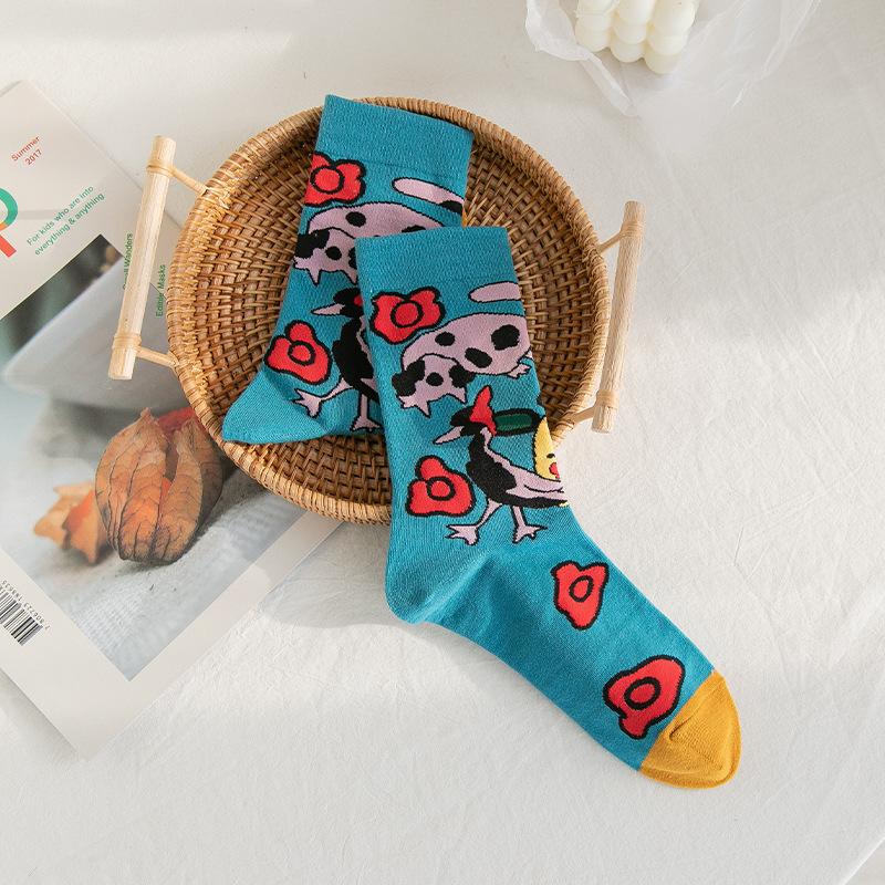 Kawaii Cotton Socks for Easily Wearing Your Shoes