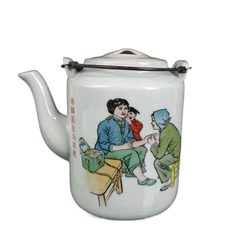 Detailed Painting on Teapot for Tea Parties