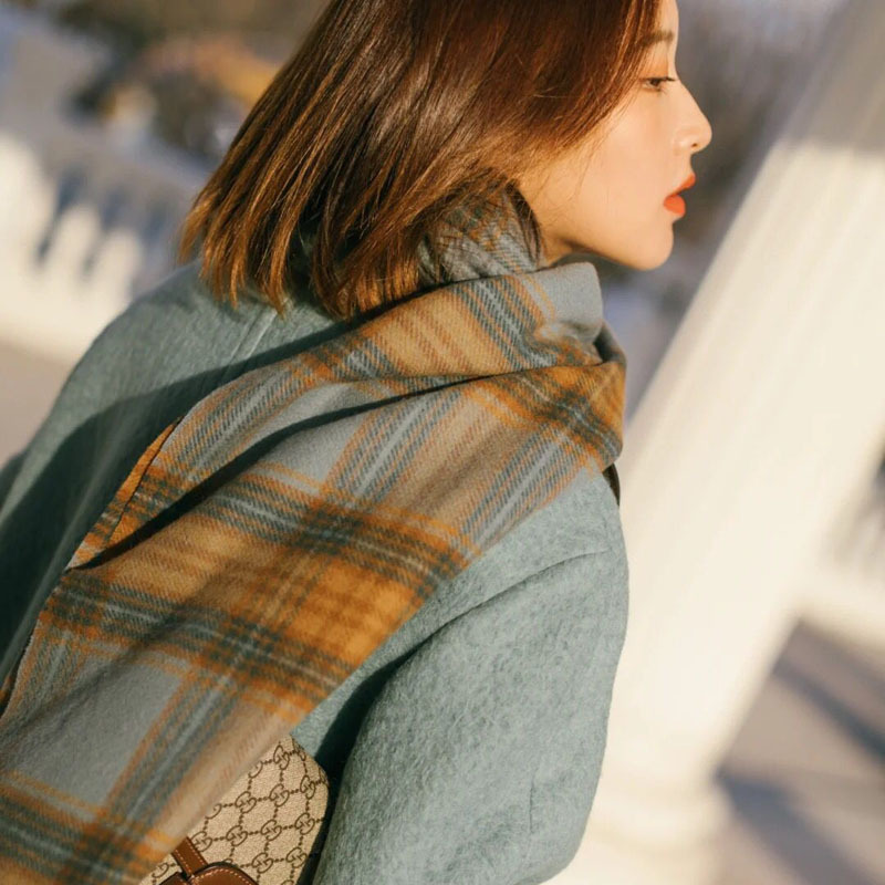 Cozy Thick Scarf for Winter and Autumn Wear