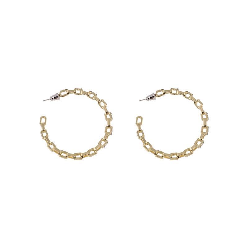 Dainty Hoop-Style Stud Earrings for Fancy Accesorries