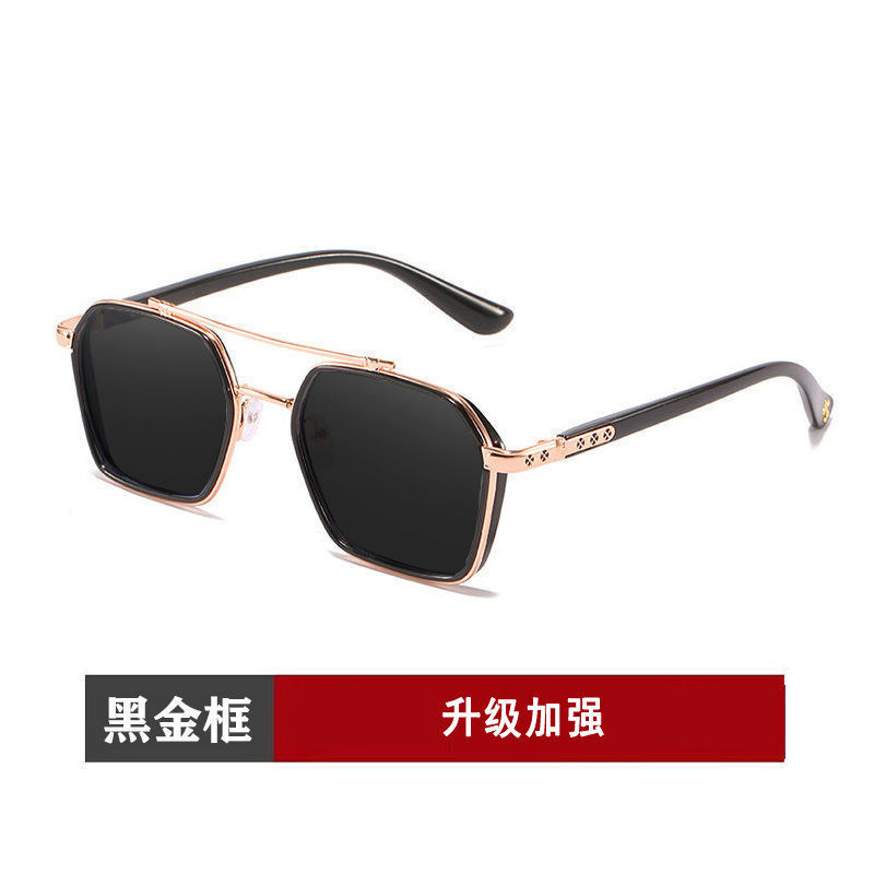 Breezy Resin and Metal Aviator Sunglasses for Motor Riding