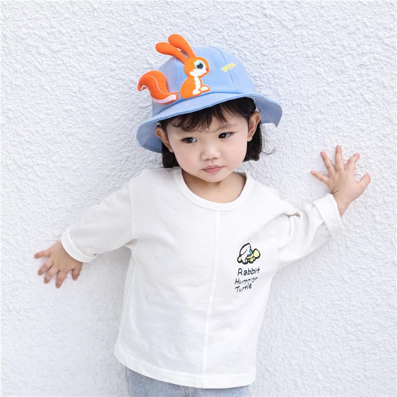 Cartoon Squirrel Baby Hat for Kids Fashion
