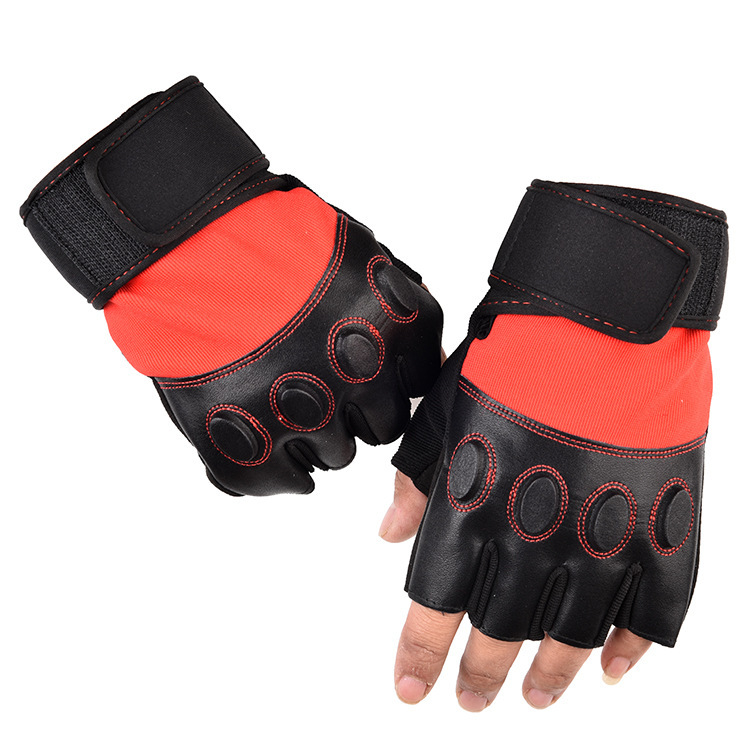 Durable Half Finger Gloves for Working Out