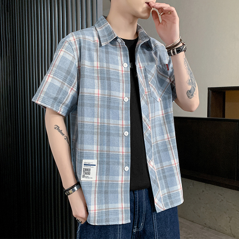Eye-Catching Vibrant Plaid Loose Jacket for Striking Outfit