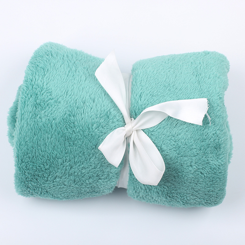 Comfy Solid Colored Leg Blanket for Office Essentials