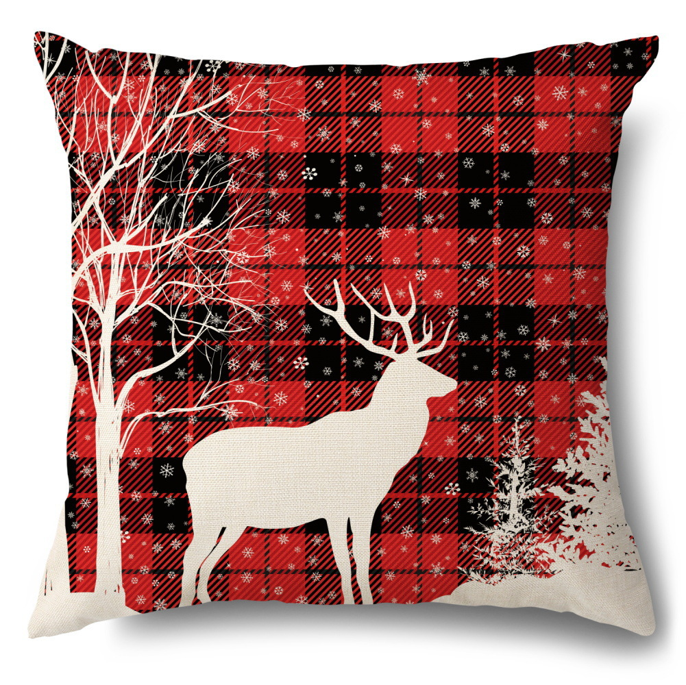 Christmas Pillowcase for Spending Holidays at Home