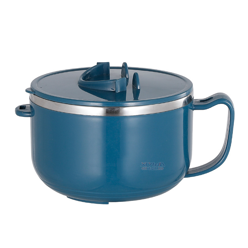 Basic Bowl with Handle and Lid for Fast-Food Restaurant Use