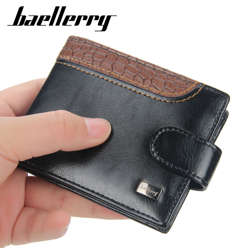 Classic Faux Leather Wallet with Multi-Card Holder for Carrying Cash and Cards