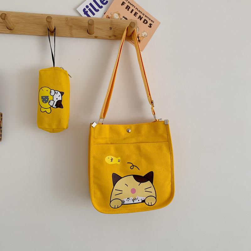 Classic Two-Piece Set Slant Cross Bag for Birthday Gift