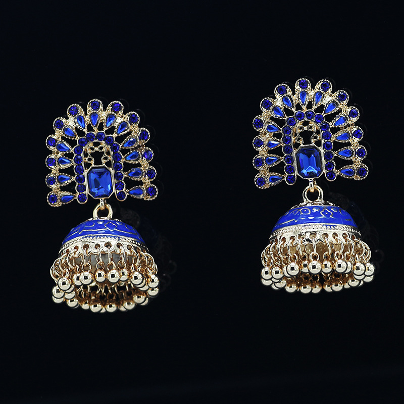 Elegant Bird Cage Earrings For Bohemian Themed Outfits
