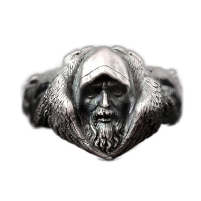 Unbreakable Metal Ring for Striking Grunge Accessories