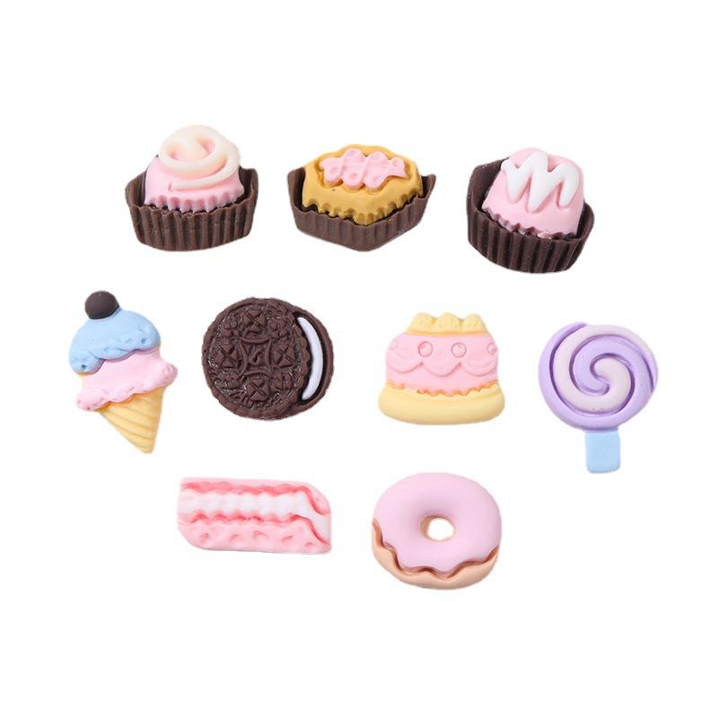 Fun Resin Dessert Accessory for Designing Phone Cases