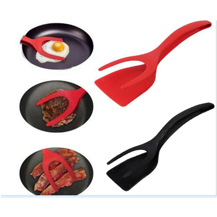 Esthetic Colored Two-Piece Spatula for Frying Eggs
