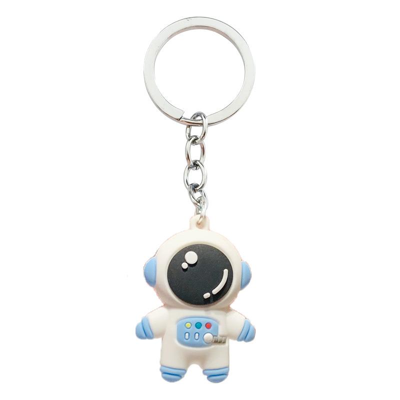 Charming Cartoon Astronaut Keychain Pendant For Birthday Gift