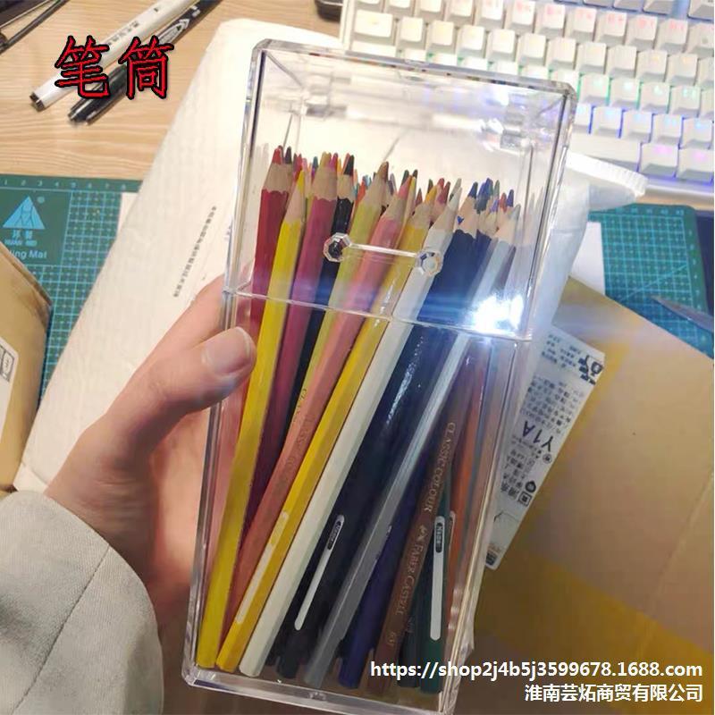 Multifunctional Spacious Pen Holder for Desk Organizing Essentials