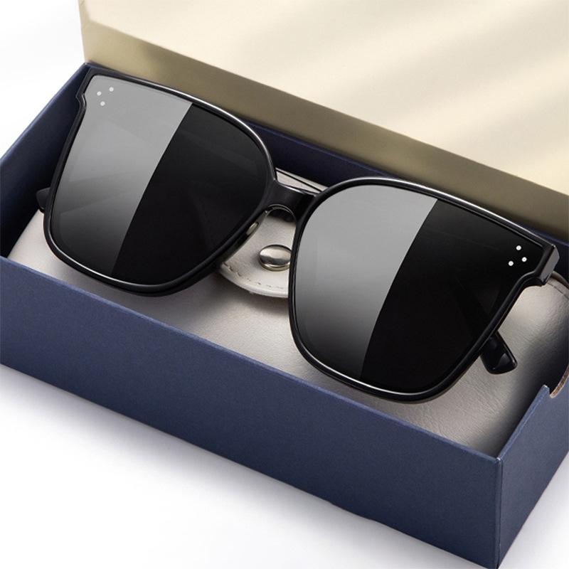 Trendy Big Lens Sunglasses for Beach Use