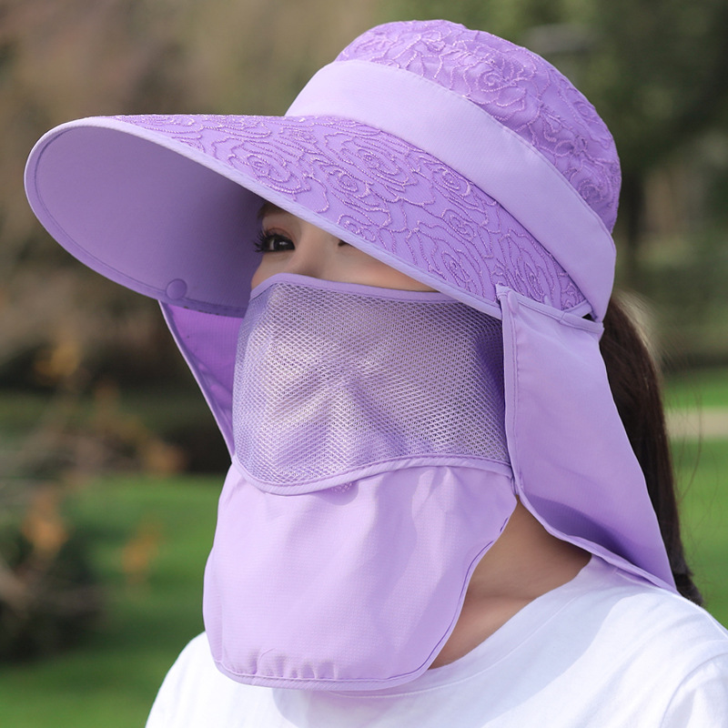 Stylish Sun Hat for Neck and Face Sun Protection