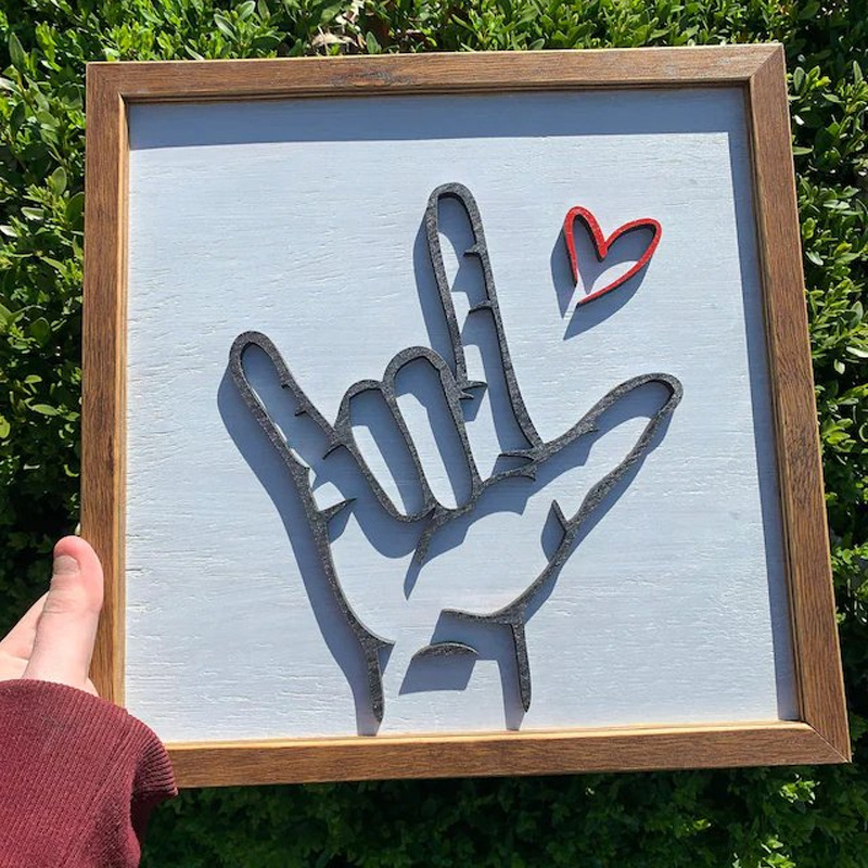 Creative Wall Hanging Photo Frame for Home Decoration