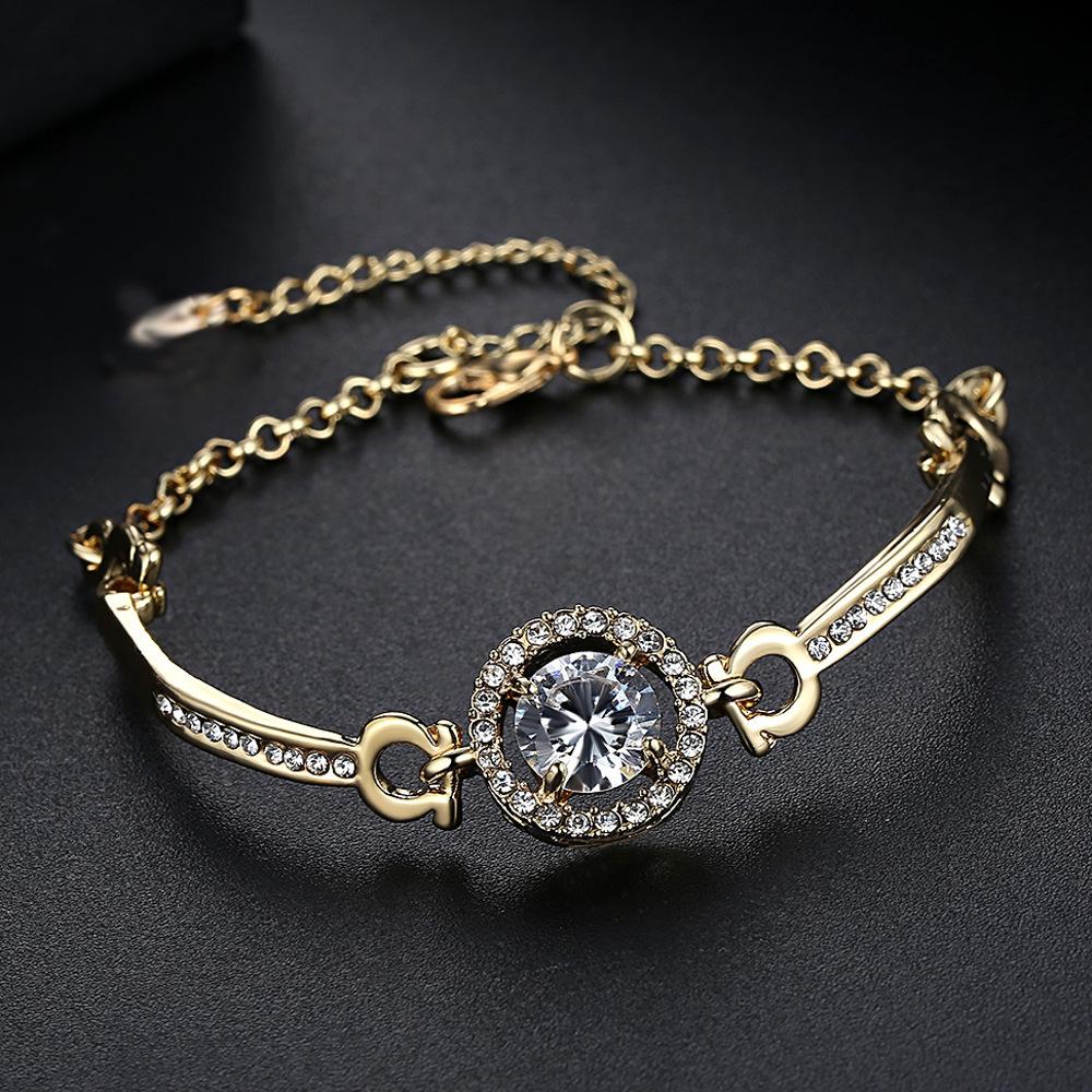 Stunning Simulated Gem Bracelet for Mother's Day Present